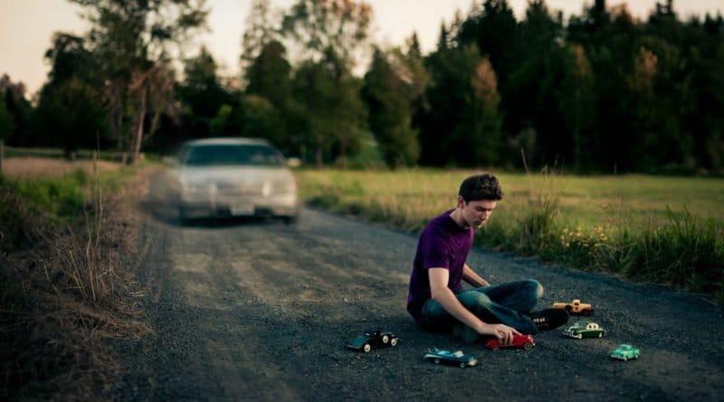 Человек на дороге