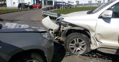 Совершение дорожно-транспортного происшествия
