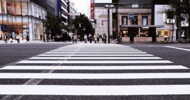 пешеходный переход дороги